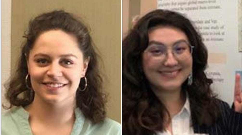 Congratulations to the Humanities Honors Outstanding Thesis Winners: Devon Hsiao and Ana Mitchell Córdova!