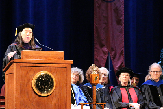 UT History Alumna LeeAnn Stack delivers Convocation Keynote: