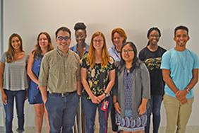 Welcome our new REU students!