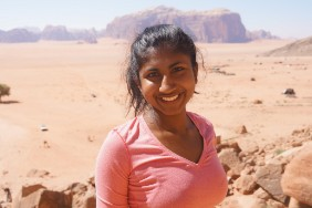 Tanya Raghu, MELC and Plan II double-major, won State Department Scholarship to study in Jordan