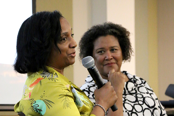 Profs. Daina Ramey Berry and Leslie M. Harris featured in Daily Texan discussing