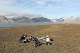 Fieldwork in Spitsbergen