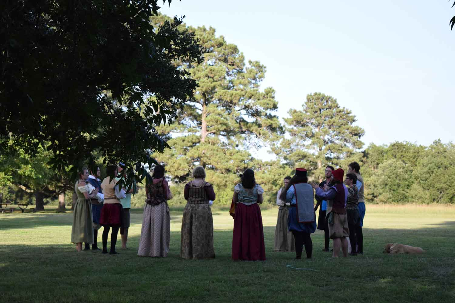 2020 Shakespeare at Winedale Spring Class Application Now Available - Due Oct. 24