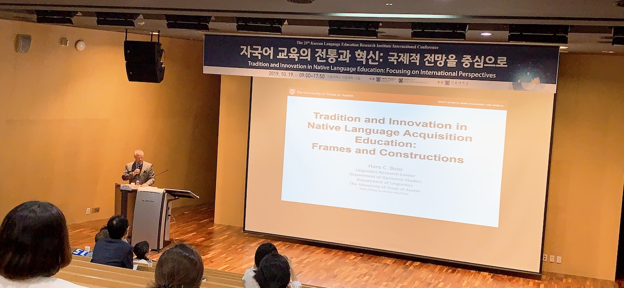 Ending the South Korean tour on a key-note...