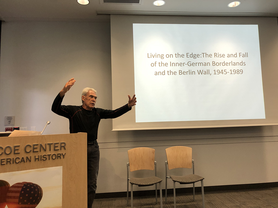 Germanic Studies Held Successful Cultures of the Berlin Wall Symposium