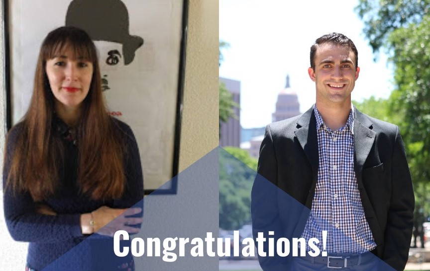 Lauren Peña and Salvatore Callesano Receive Dissertation Fellowships