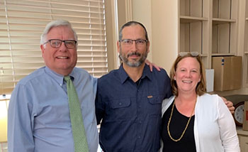 COLA Dean Diehl, Psy Chair David Schnyer, Dean Stevens