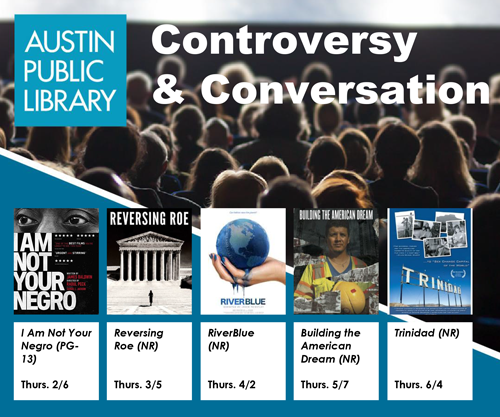 Announcing the Spring 2020 Controversy & Conversation Documentary Film Lineup