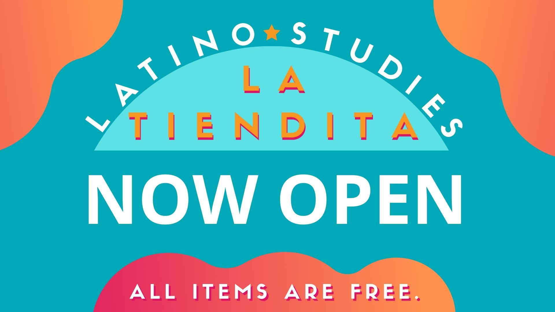 La Tiendita is open M-F/9-5