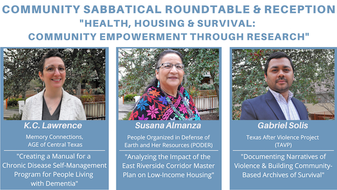 Announcing the Community Sabbatical Roundtable and Reception Celebrating the 2019 CS Grantees