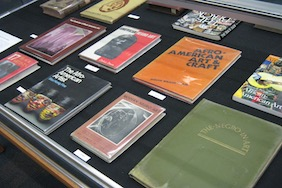 First Edition Books from Dr. Chambers's on Display in Fine Arts Library