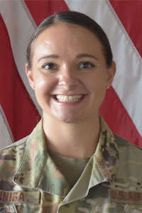 Capt Gabrielle Zuniga, USAF