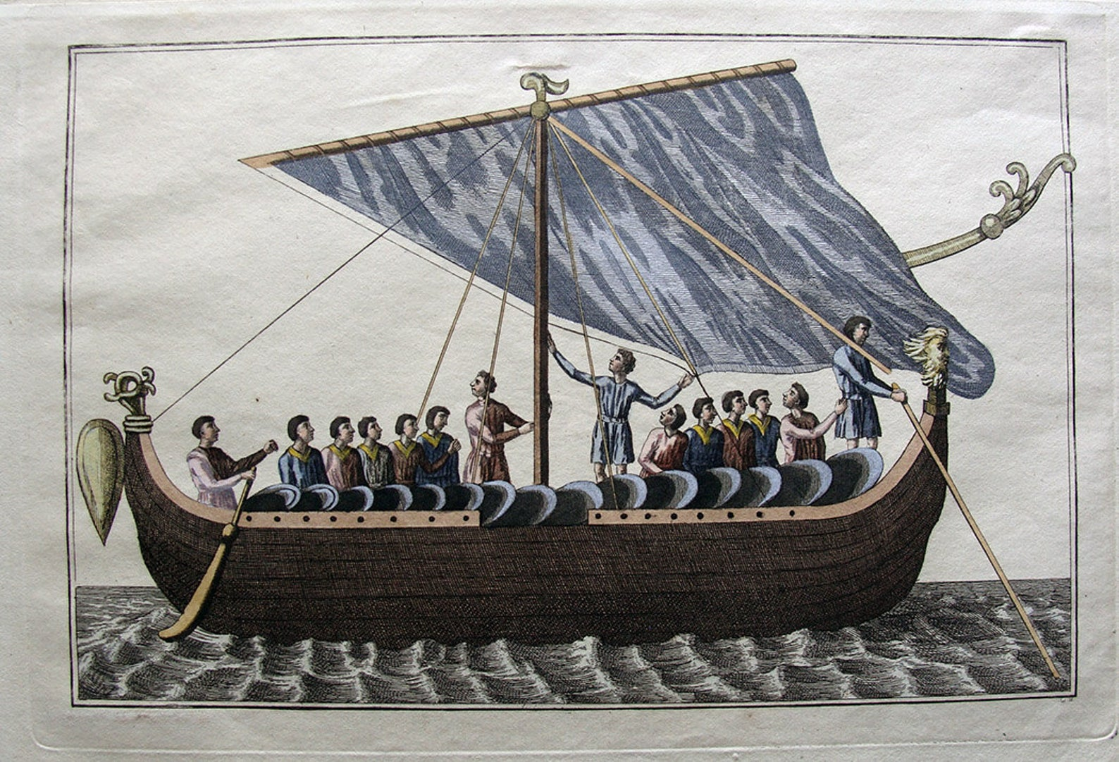 Anglo-Saxon ship before the Norman invasion