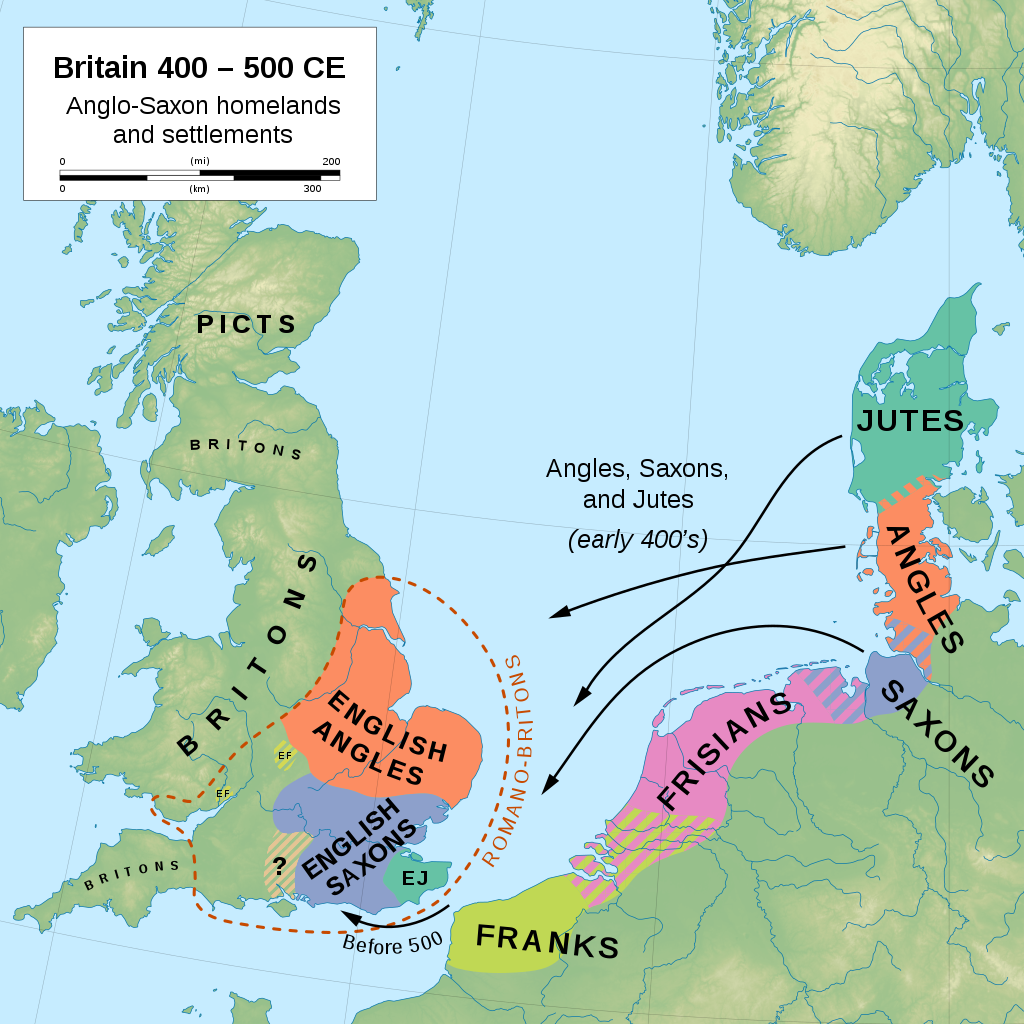 Early migrations of Germanic peoples to England