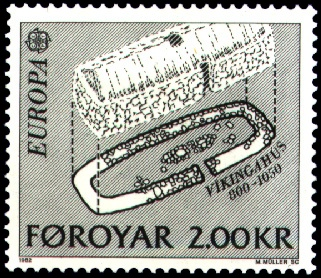 Postage stamp from the Faroe Islands