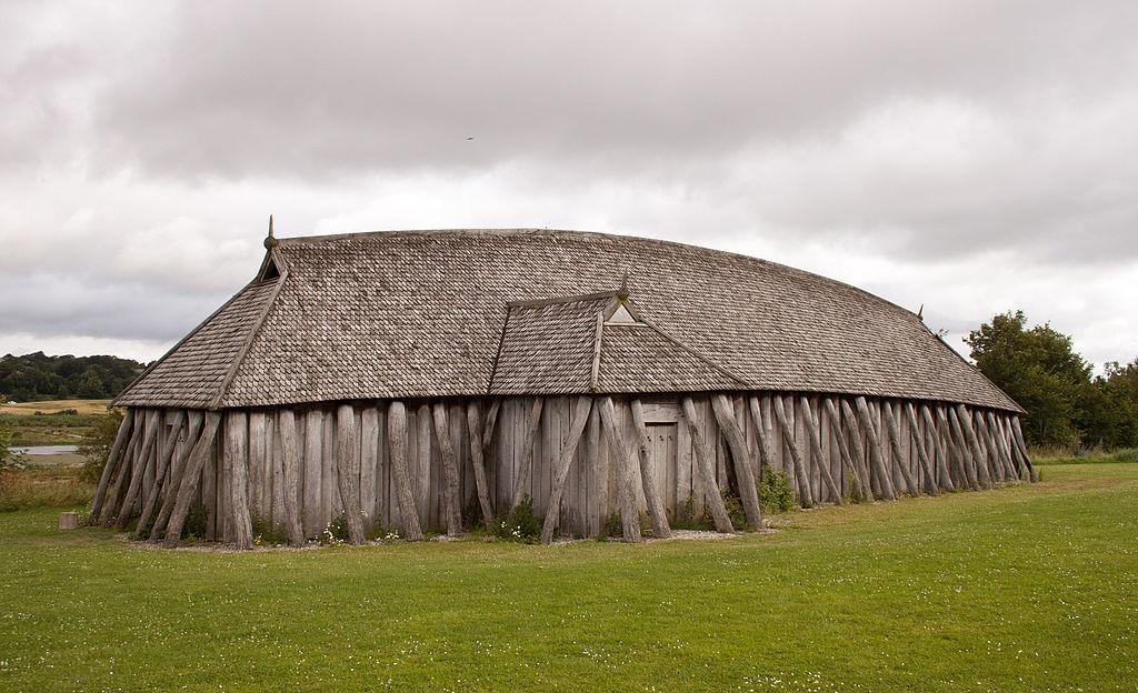Viking house of Fyrkat