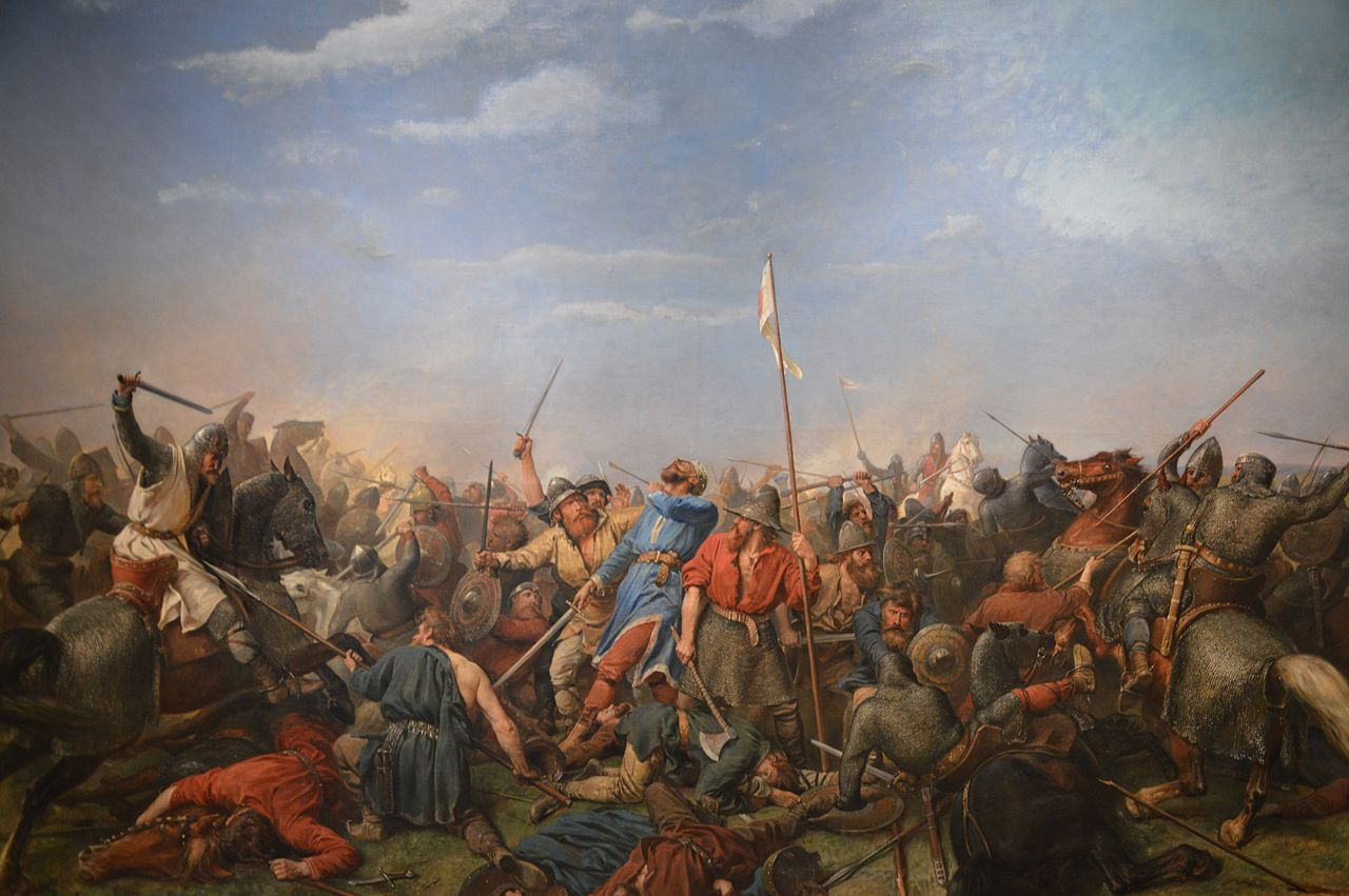 Arbo's depiction of the Battle of Stamford Bridge